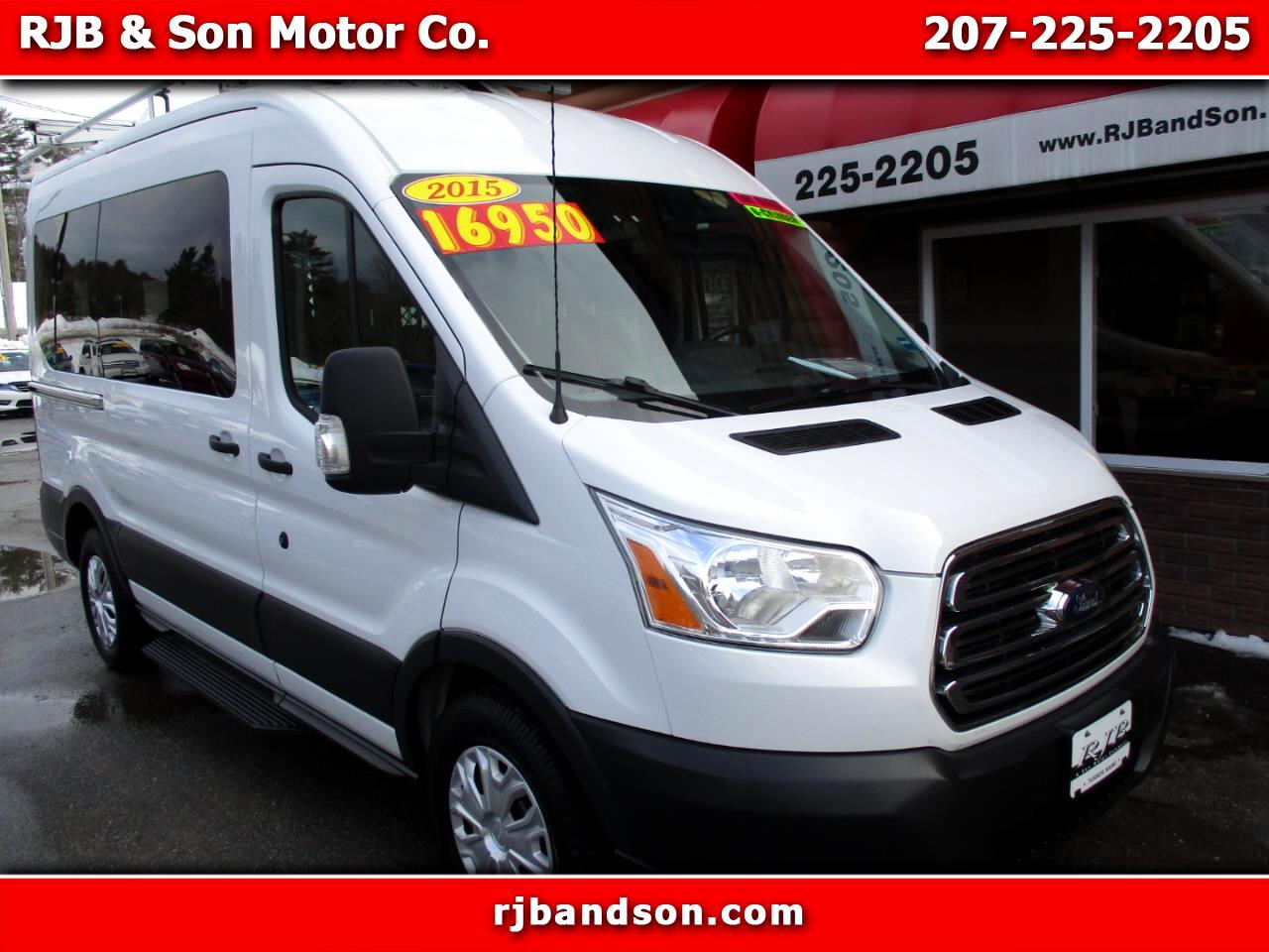 Ford Transit 150 Wagon Med. Roof XLT w/Sliding Pass. 130-in. WB 2015