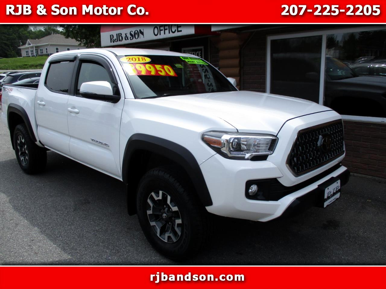Toyota Tacoma TRD Offroad Dbl Cab 4WD V6 at 2018