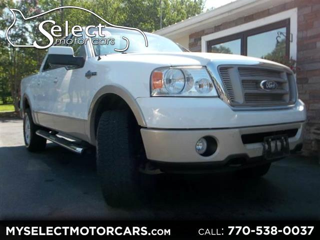 "2007 Ford F-150 4WD SuperCrew 150"" King Ranch"