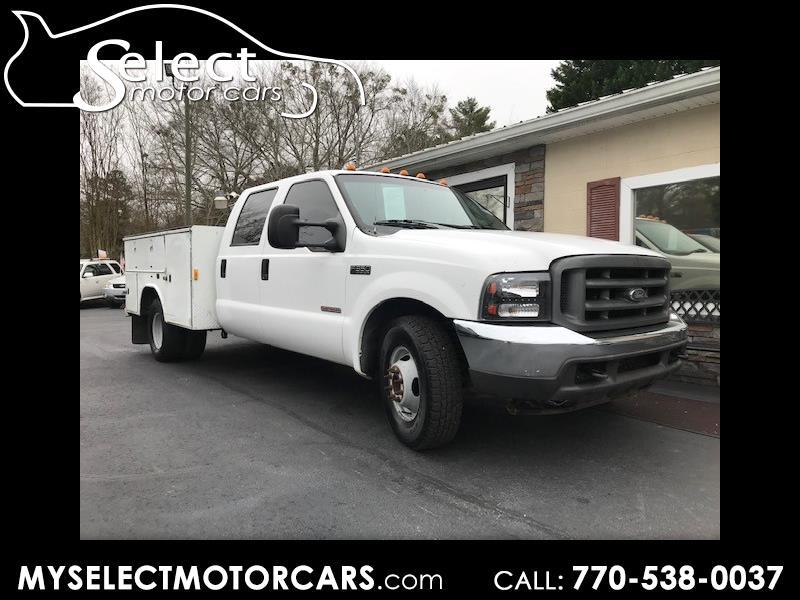 2003 Ford F-350 SD XL Crew Cab Long Bed 2WD DRW