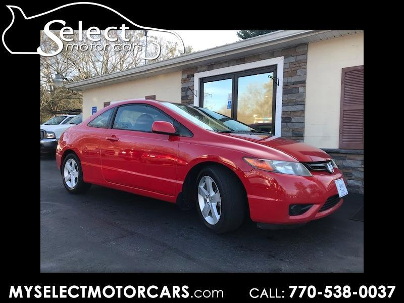 2006 Honda Civic EX Coupe AT with Navigation