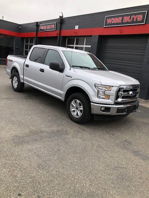 2017 Ford 150 XLT SuperCrew 5.5-ft. Bed 4WD