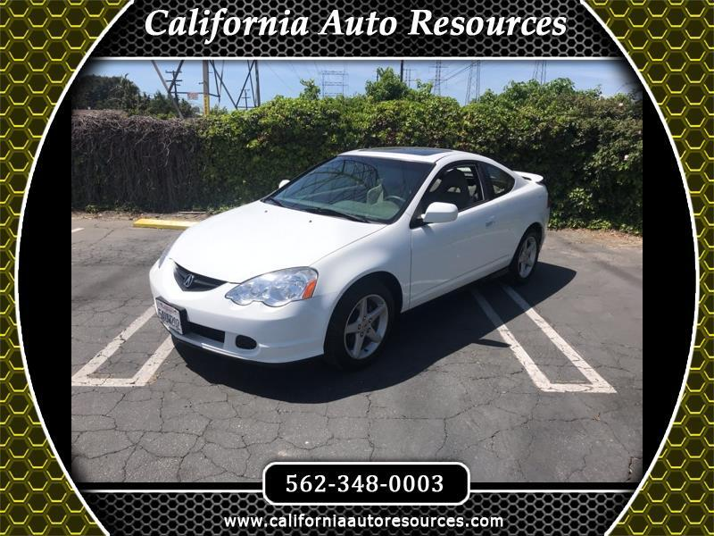 2003 Acura RSX Coupe with 5-speed AT and Leather