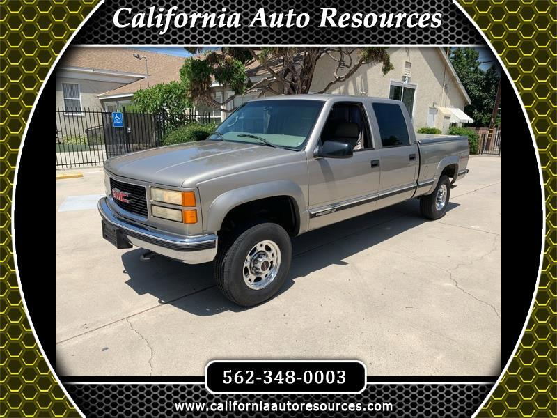 2000 GMC Sierra Classic 2500 Crew Cab Short Bed 4WD