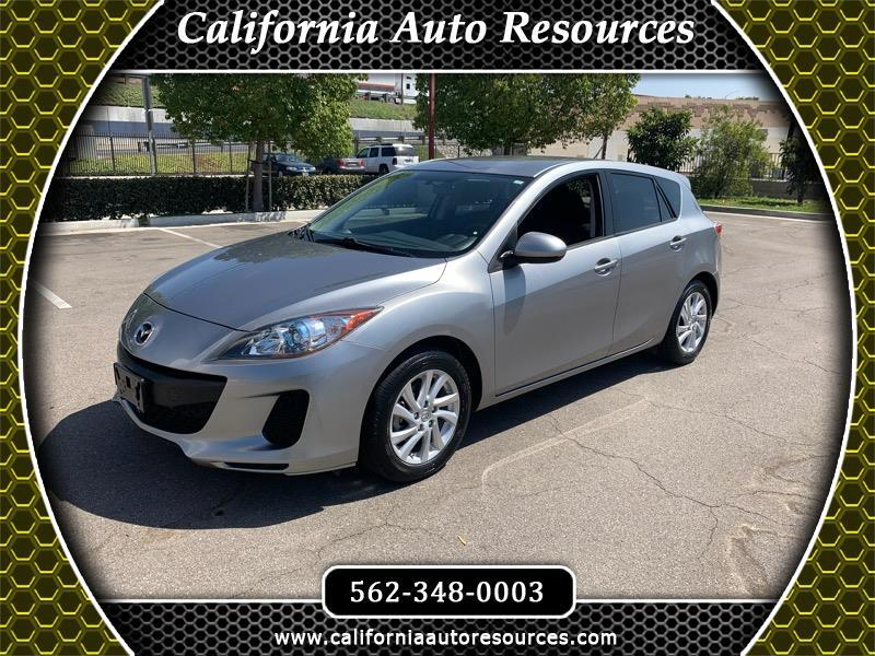 Mazda Mazda3 Hatchback FWD Auto w/Preferred Pkg 2012
