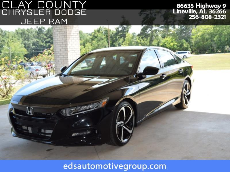 2018 Honda Accord Sport 2.0T 10A