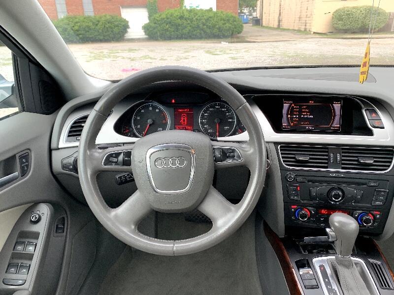 2010 Audi A4 2.0 T Sedan FrontTrak Multitronic
