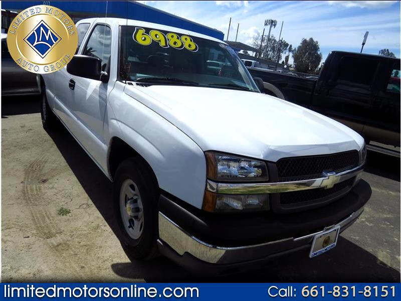 2004 Chevrolet Silverado 1500 Work Truck Ext. Cab Long Bed 2WD