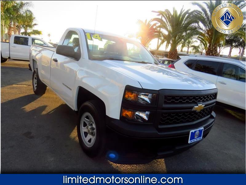 Chevrolet Silverado 1500 Work Truck 2WT Regular Cab 2WD 2014