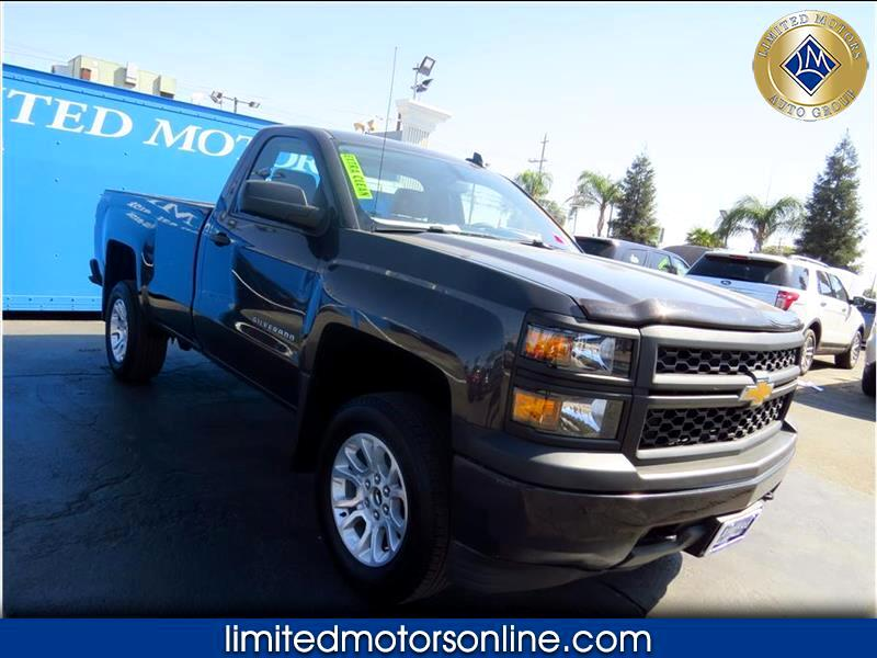Chevrolet Silverado 1500 Work Truck Long Box 4WD 2015
