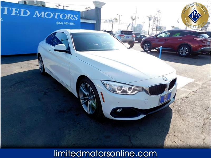 BMW 4-Series 430i SULEV Coupe 2017