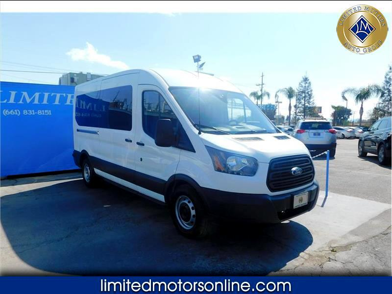 Ford Transit 350 Wagon Med. Roof XL w/Sliding Pass. 148-in. WB 2016