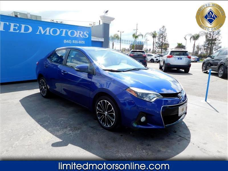 Toyota Corolla S Plus 6MT 2015