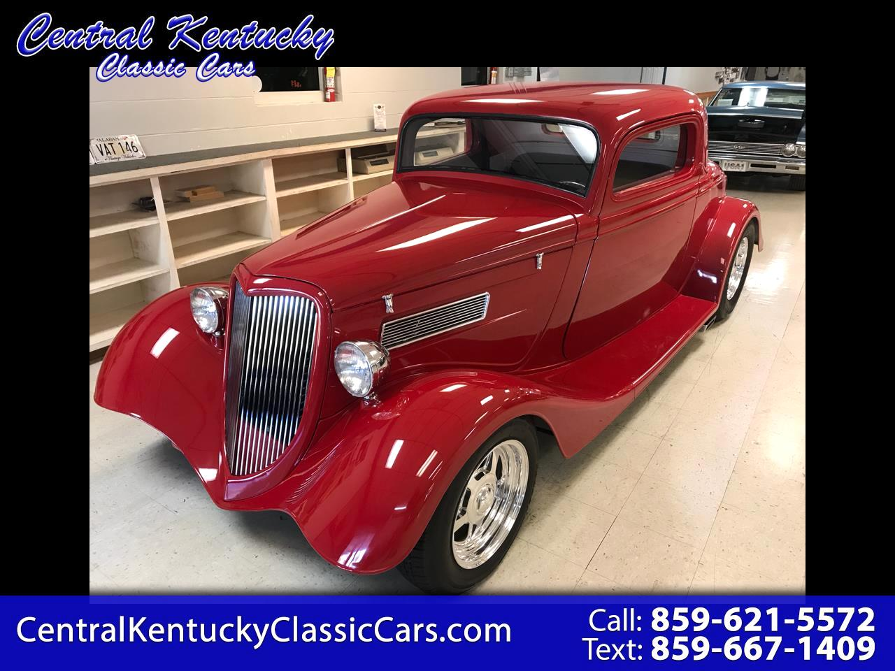 1934 Ford Coupe 3 Window Coupe