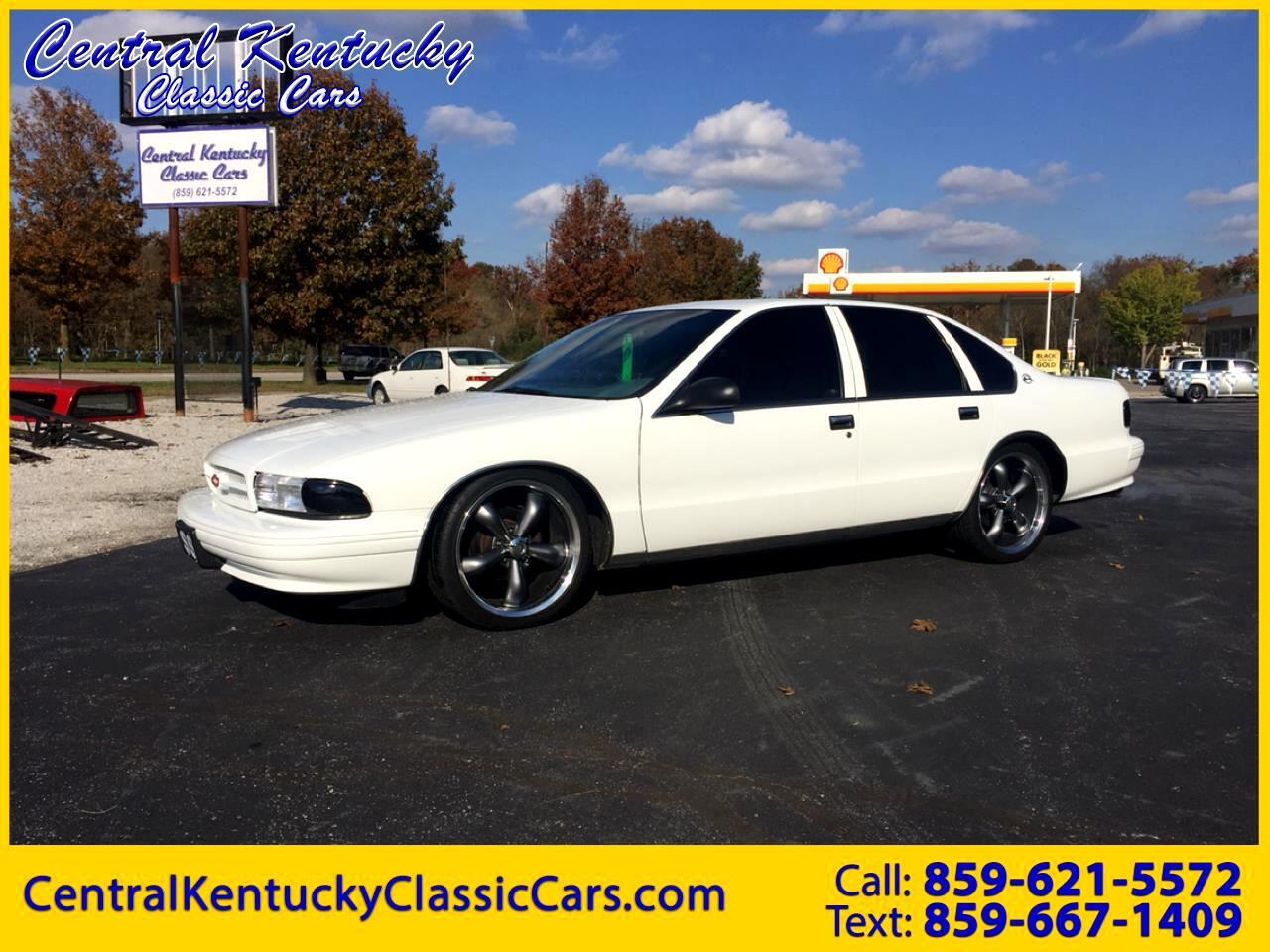 1996 Chevrolet Caprice 4dr Sedan Classic