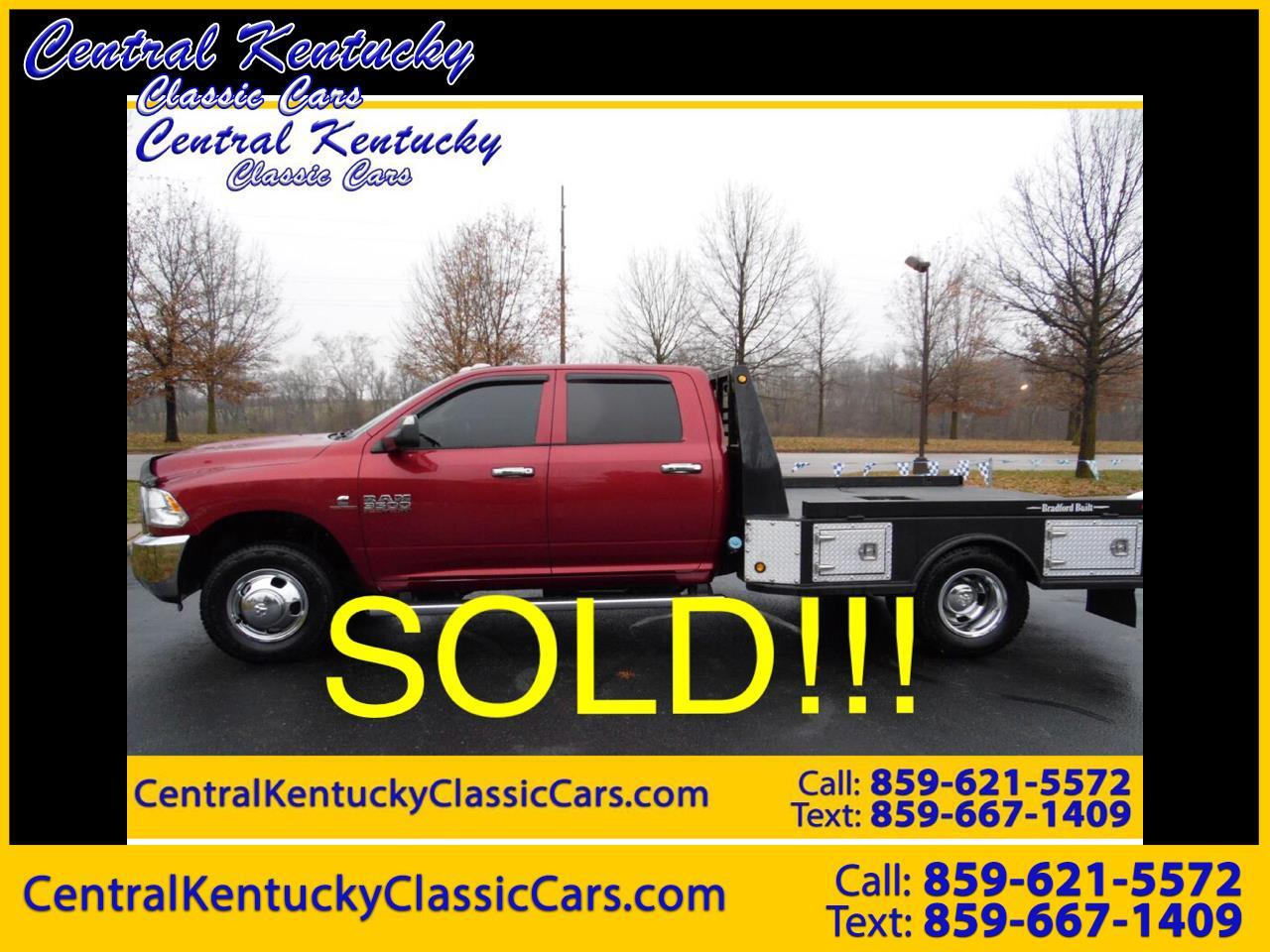 2014 RAM 3500 Chassis Cab Tradesman 4WD Crew Cab 172