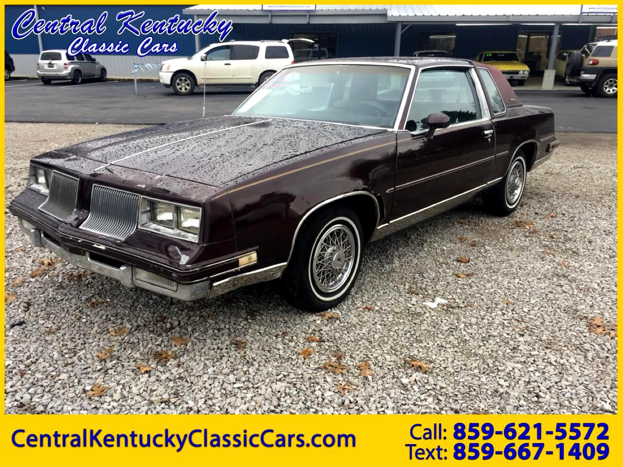 1986 Oldsmobile Cutlass Supreme Coupe