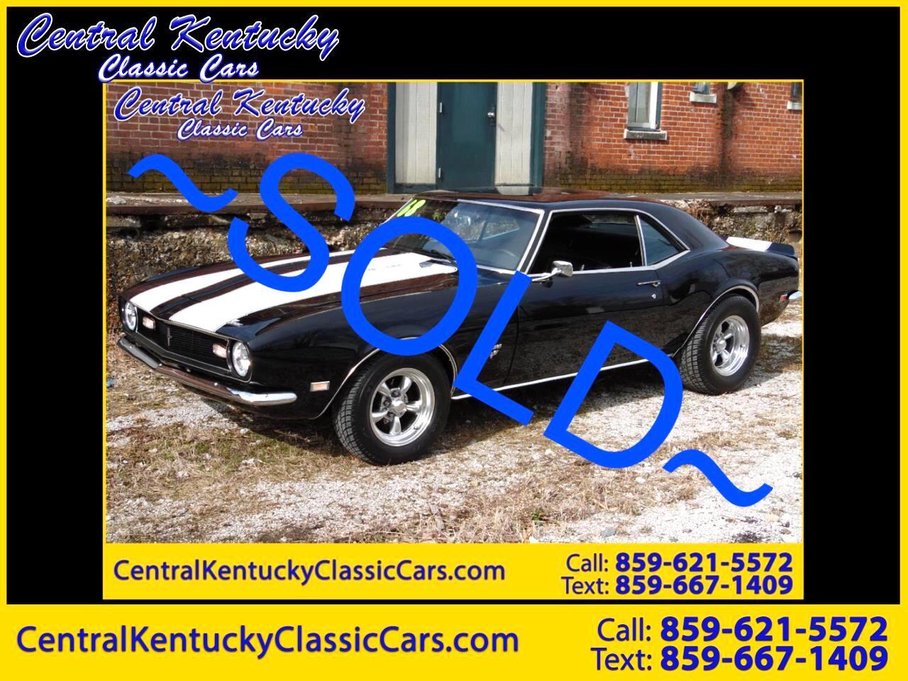1968 Chevrolet Camaro 2dr Coupe