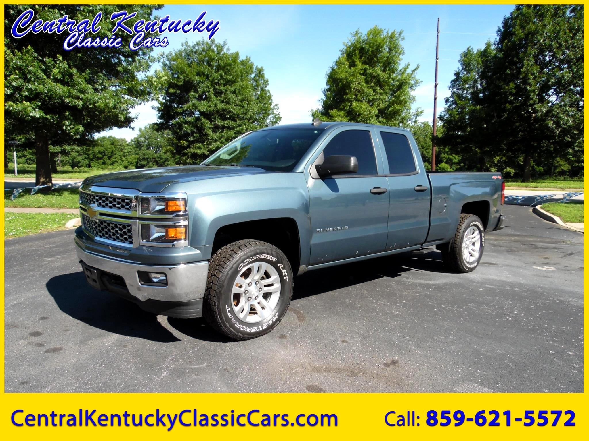 Used 2014 Chevrolet Silverado 1500 2lt Double Cab 4wd For Sale In