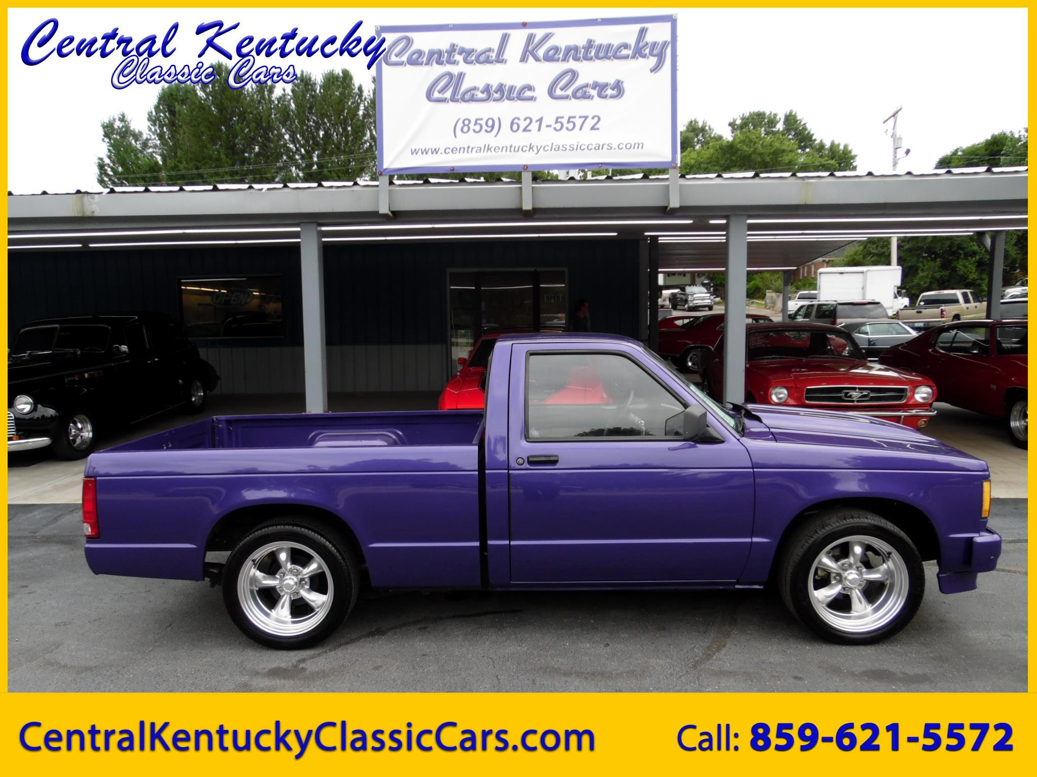 1986 Chevrolet S10 Pickup Short Bed 2WD