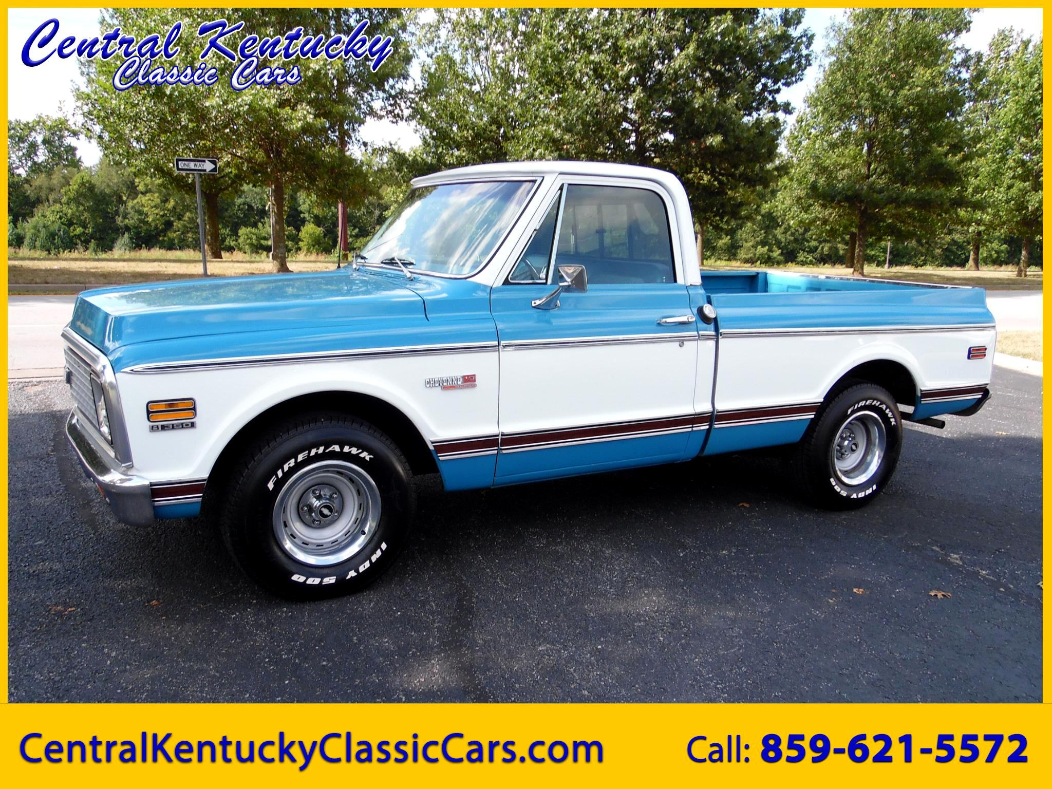 1972 Chevrolet Trucks C10 Super Cheyenne