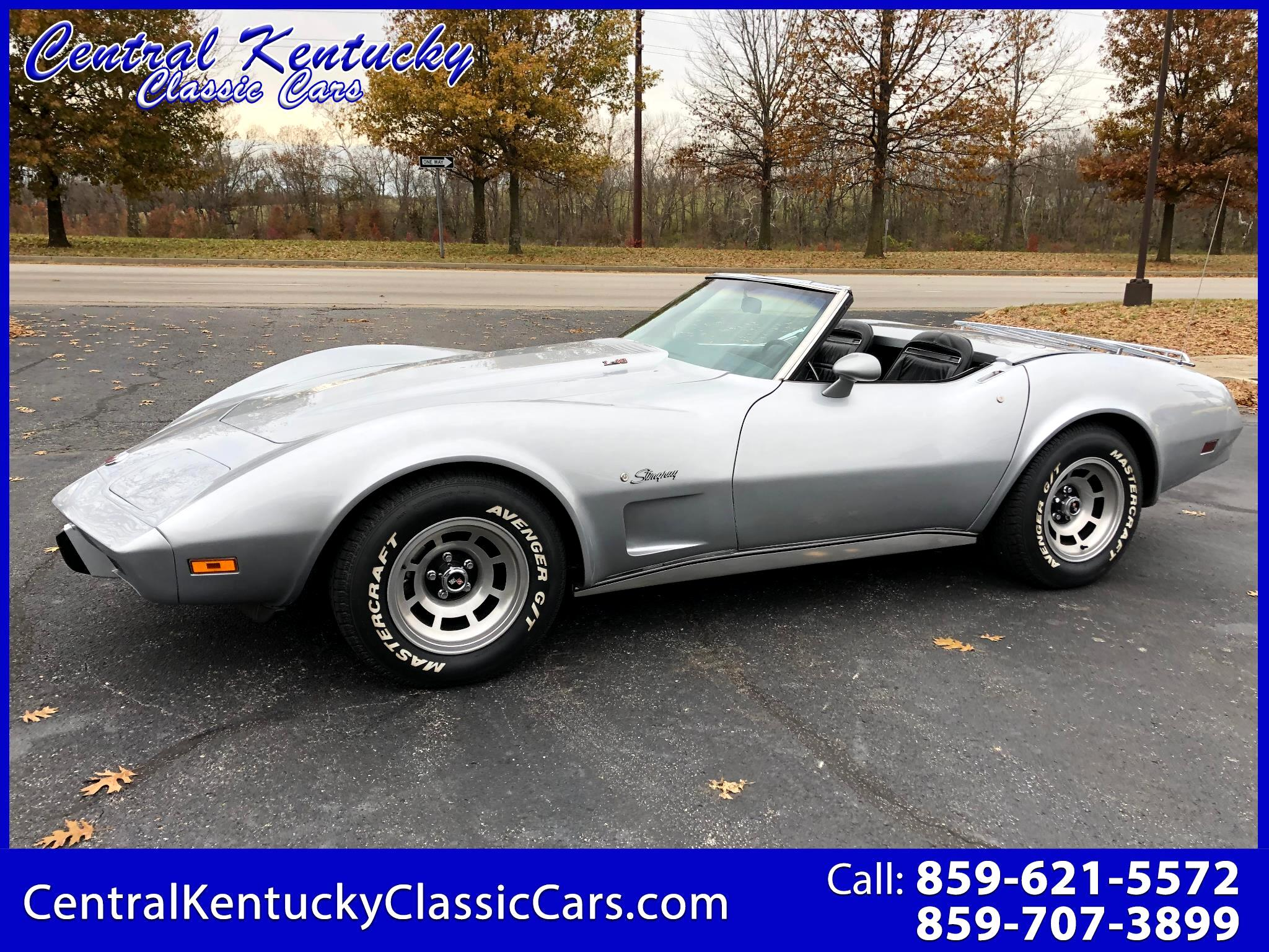 Chevrolet Corvette Stingray Convertible  1975