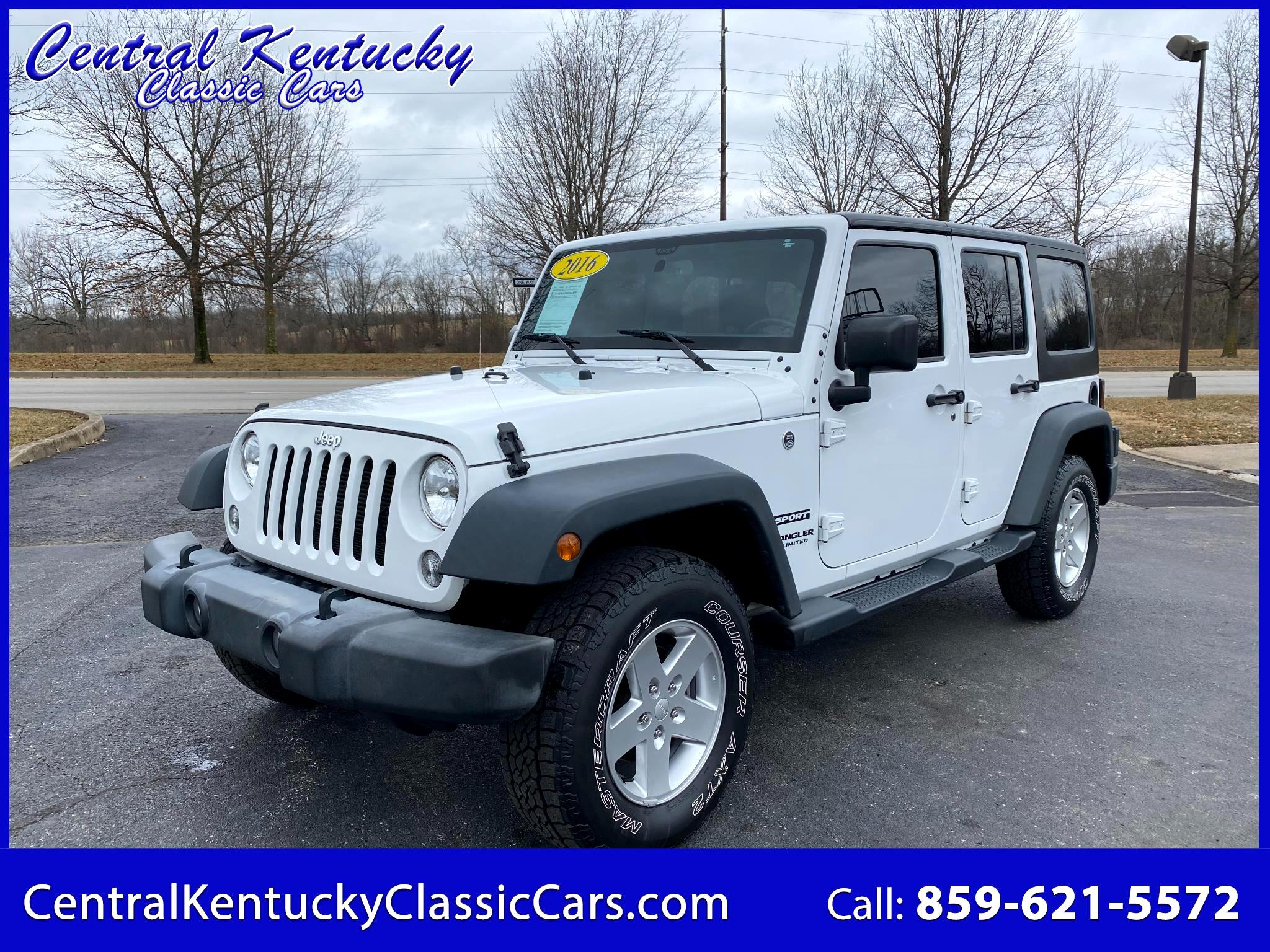Jeep Wrangler Unlimited Sport 4WD 2016