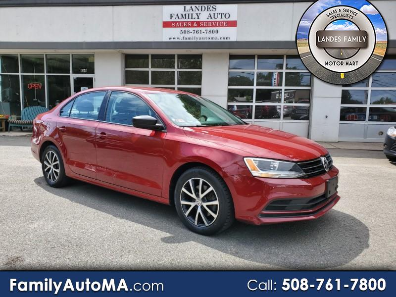 2016 Volkswagen Jetta SE w Connectivity Package