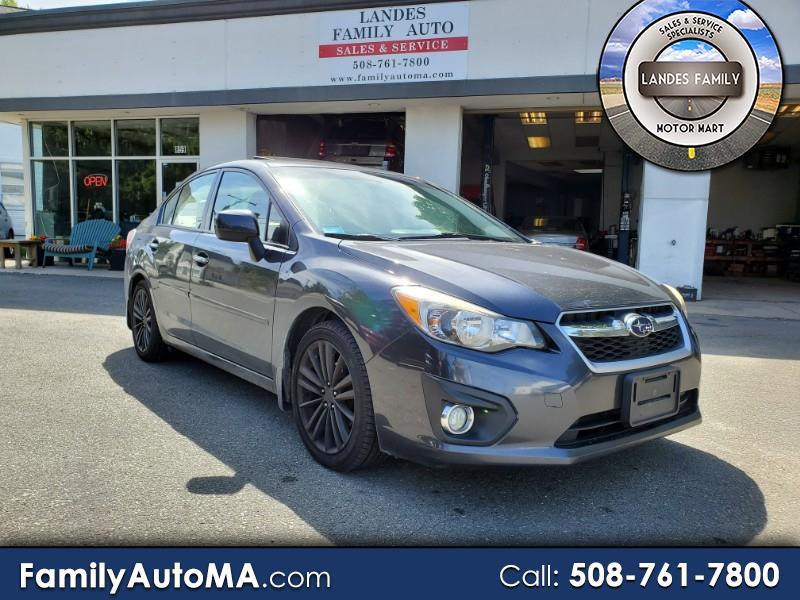 2013 Subaru Impreza Limited 4-Door+S/R