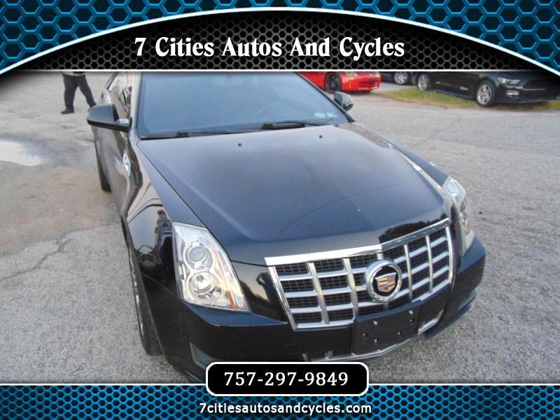 Cadillac CTS Base Coupe AWD 2013