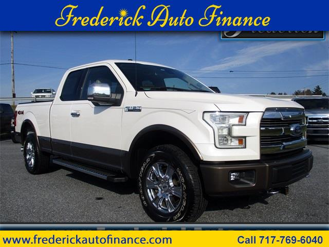 2015 Ford 150 Lariat SuperCab 6.5-ft. Bed 4WD