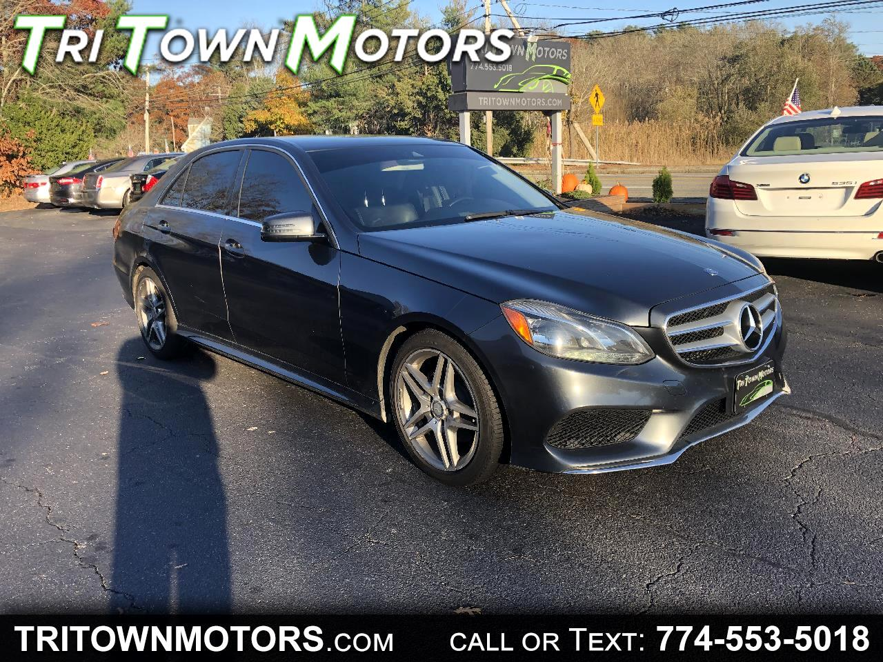 Mercedes-Benz E-Class E350 4MATIC Sedan 2014