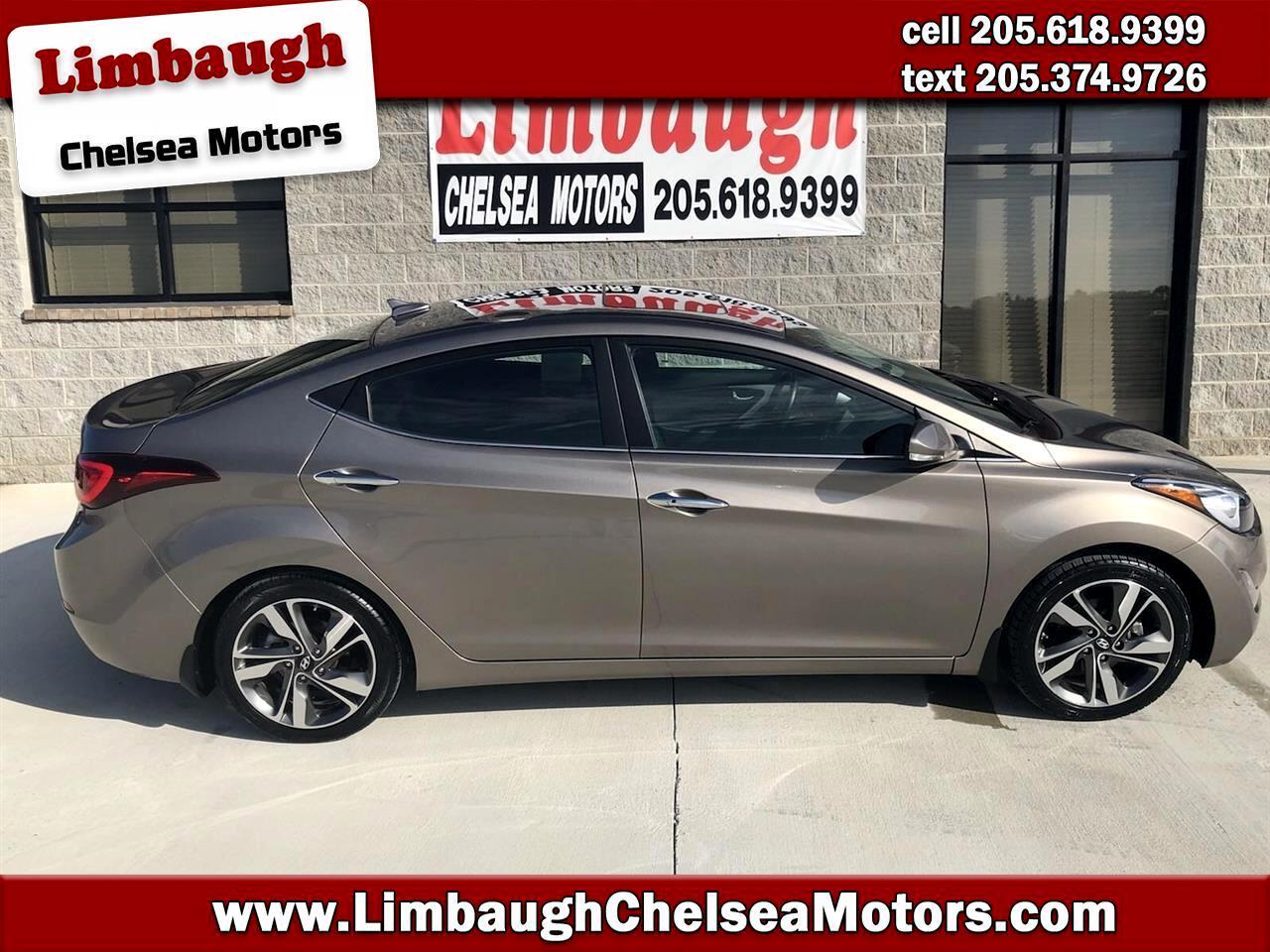 2015 Hyundai Elantra 4dr Sdn Auto Limited (Alabama Plant)