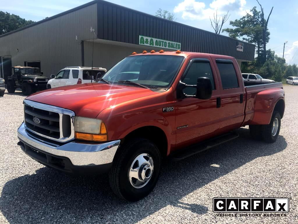 2000 Ford F-350 SD XLT Crew Cab Long Bed 4WD DRW
