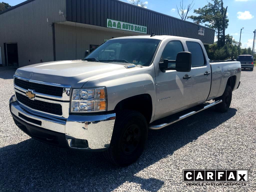 2008 Chevrolet Silverado 2500HD Work Truck Crew Cab Long Box 4WD