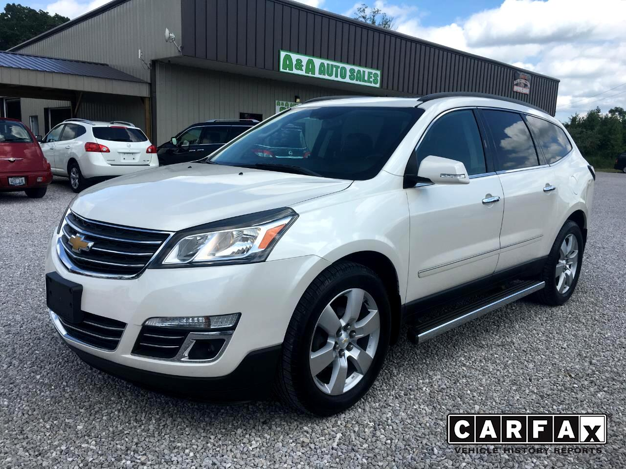 Used 2013 Chevrolet Traverse LTZ AWD for Sale in Somerset KY