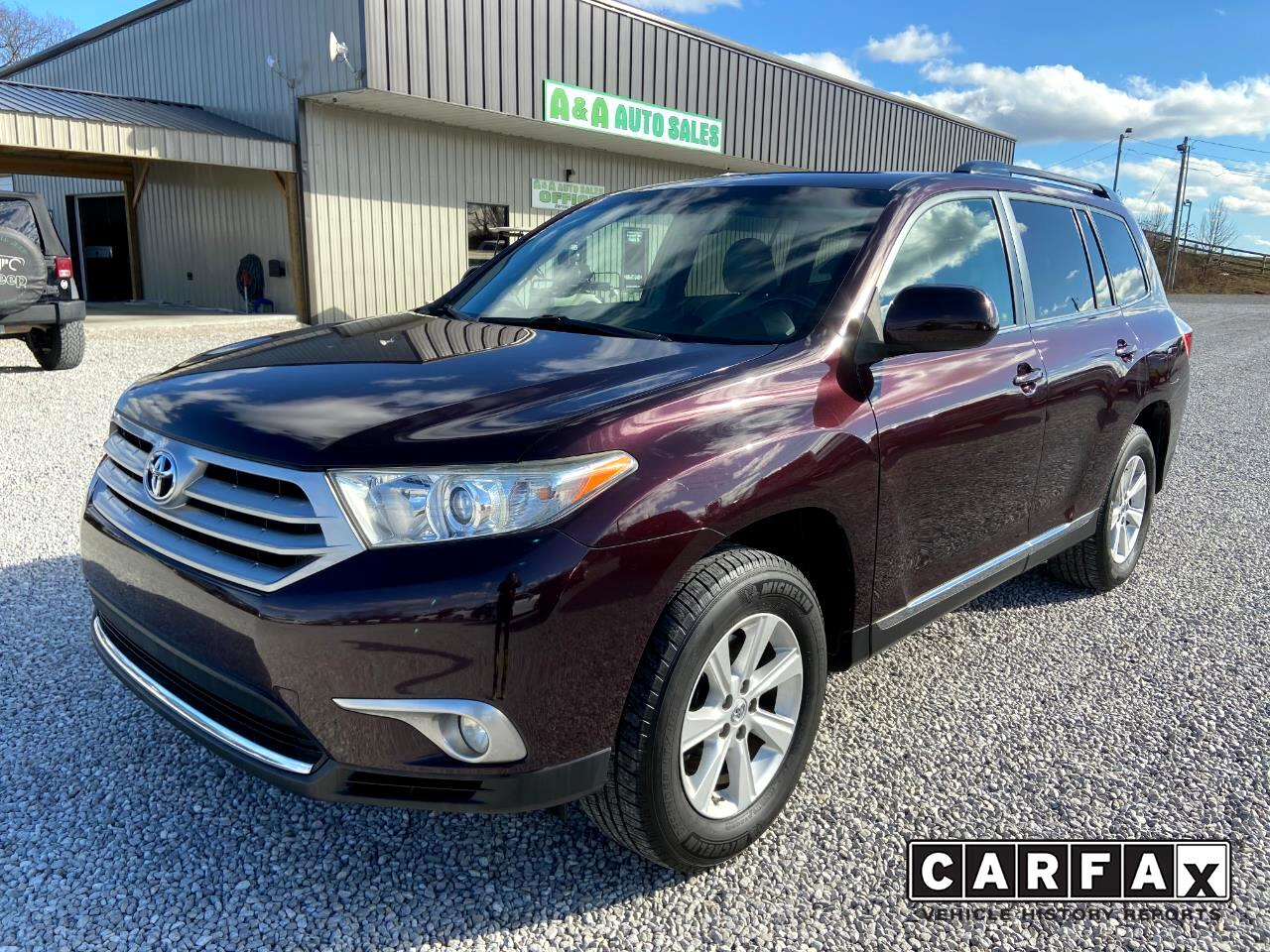 Toyota Highlander Base 2WD V6 2011