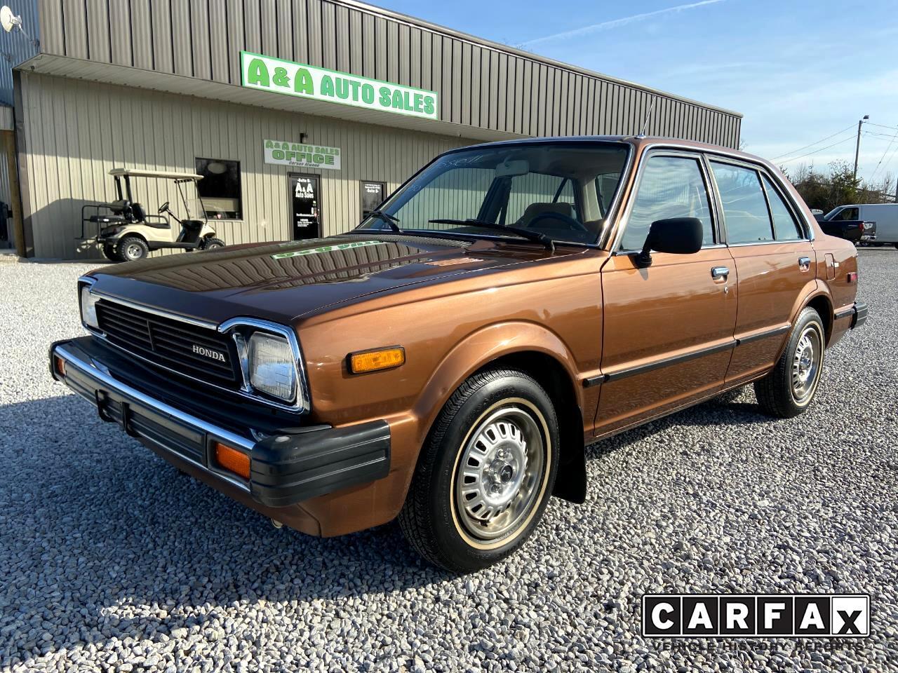 Honda Civic 4-Door Sedan 1981