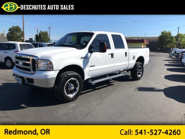 2006 Ford F-350 SD Lariat Crew Cab Short Bed 4WD
