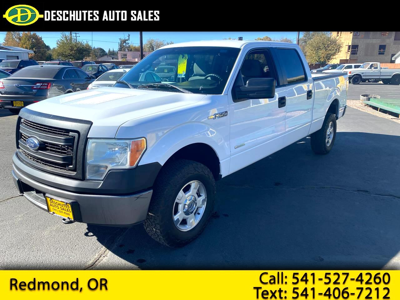 Ford F-150 XL SuperCrew 4WD 2014