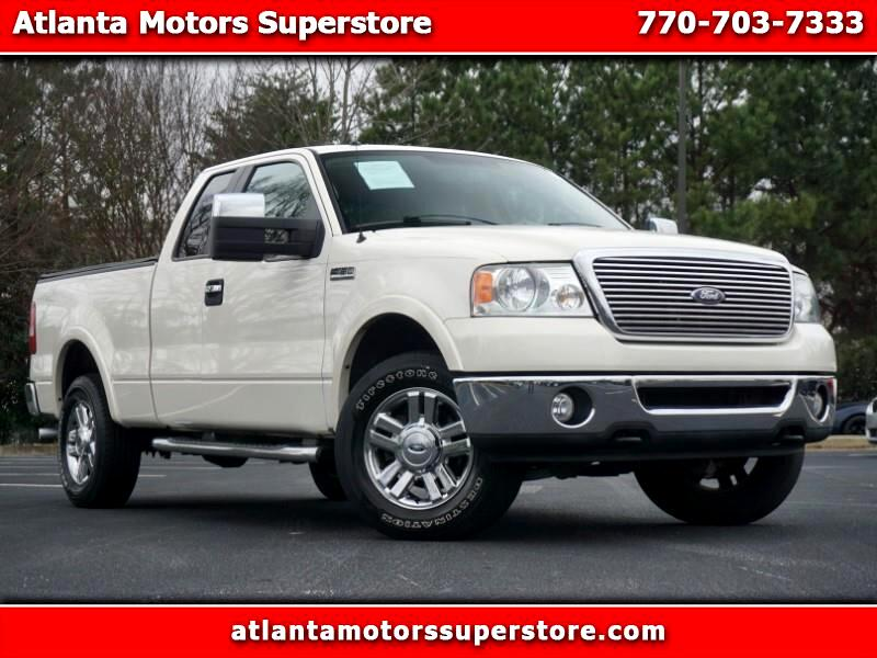 """2008 Ford F-150 4WD SuperCab 145"""" Lariat"""