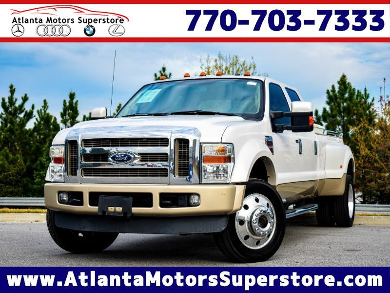 2010 Ford F-450 SD King Ranch Crew Cab DRW 4WD