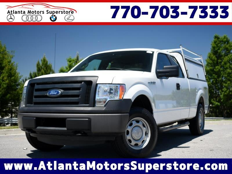 "2012 Ford F-150 4WD SuperCab 145"" XL"