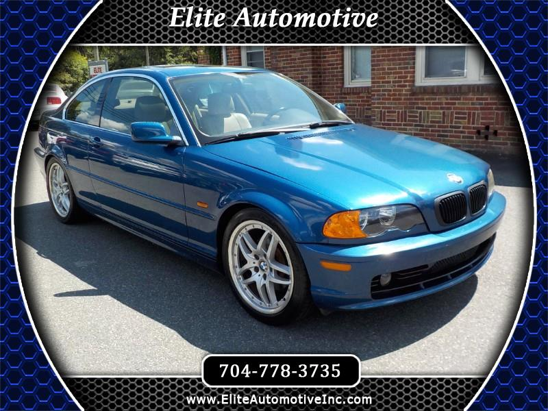 2001 BMW 3-Series 325Ci coupe