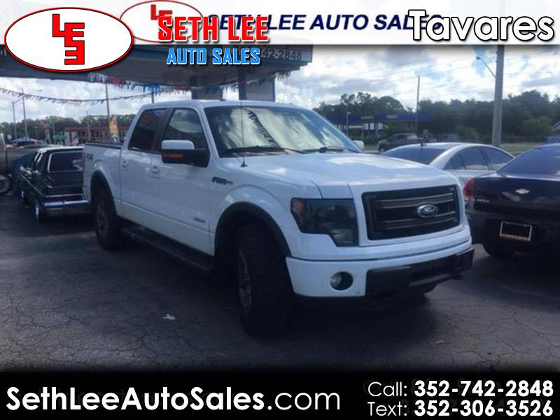 """2013 Ford F-150 SuperCrew 150"""" FX4 4WD"""