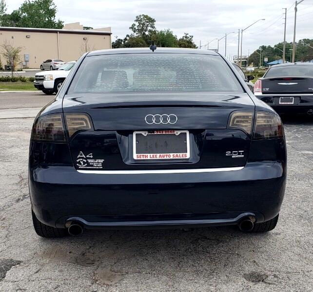 Used Audi A4 Quattro: Used 2008 Audi A4 2.0T Quattro For Sale In Tavares FL