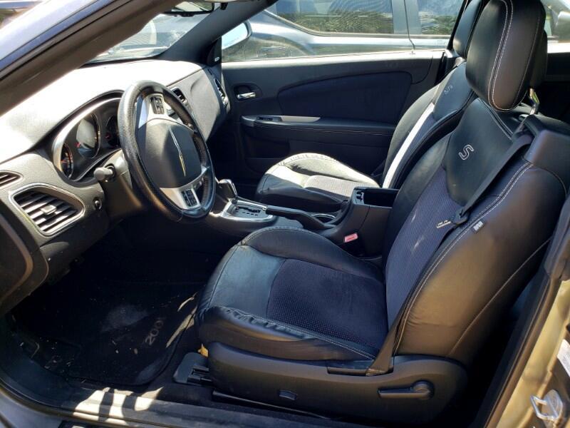 2011 Chrysler 200 S Convertible