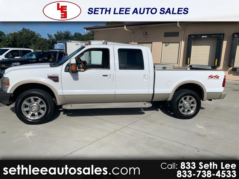 Ford F-250 SD King Ranch Crew Cab Long Bed 4WD 2008