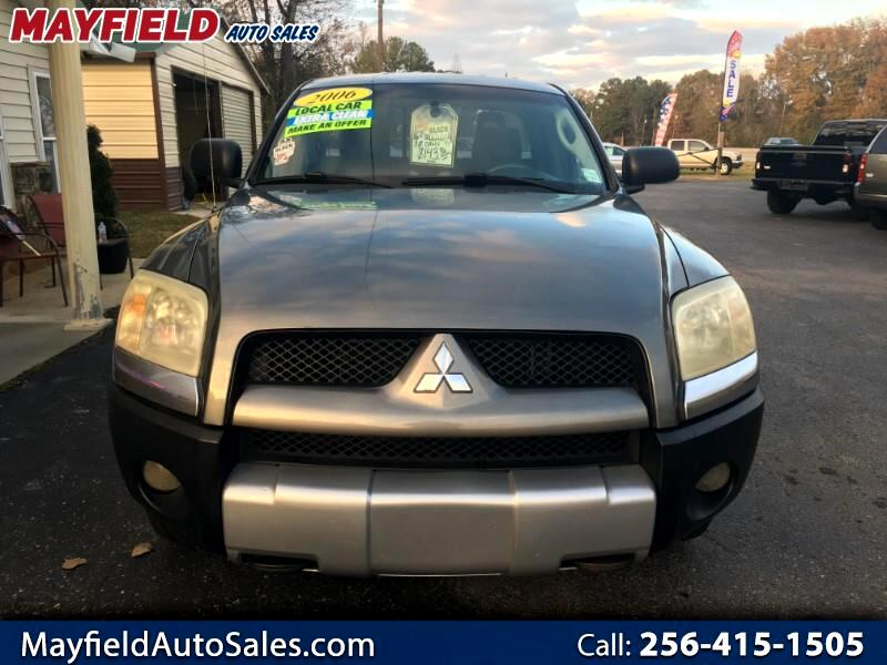 2006 Mitsubishi Raider DuroCross V6 Extended Cab 2WD