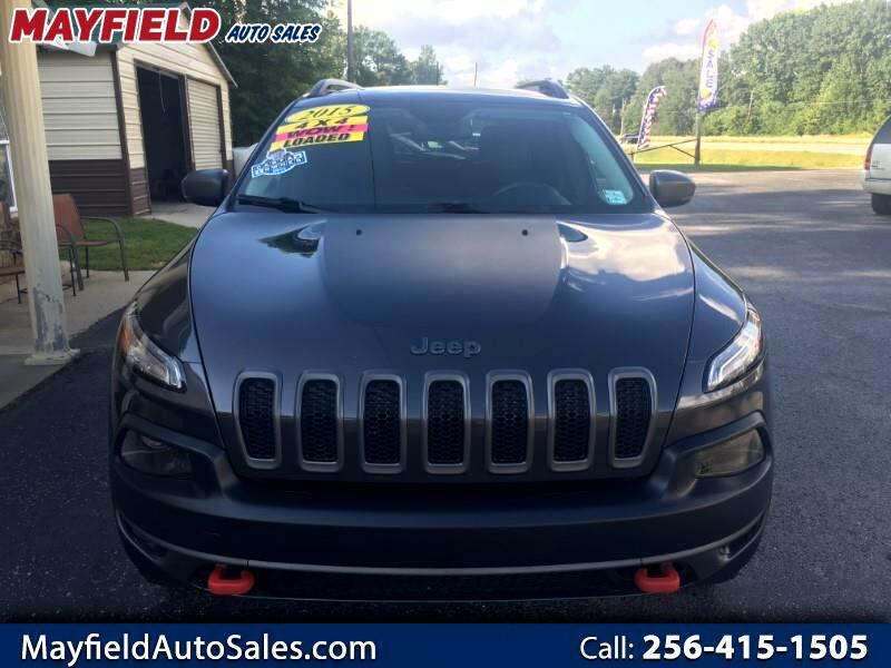 Used 2015 Jeep Cherokee Trailhawk 4WD for Sale in